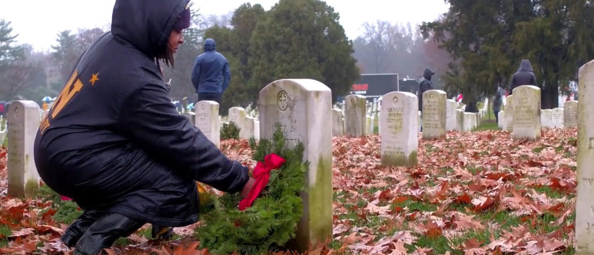 Thousands Participate in Wreaths Across America Event (The Daily Caller)