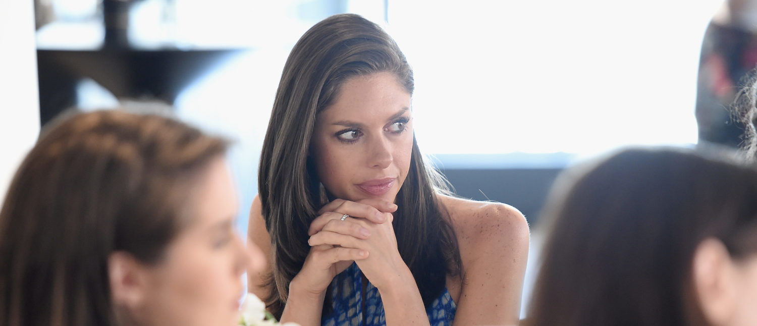 NEW YORK, NY - JULY 11: Journalist Abby Huntsman attends a luncheon hosted by Glamour and Facebook to discuss the 2016 election at Samsung 837 in NYC on July 11, 2016 in New York City. Nicholas Hunt/Getty Images