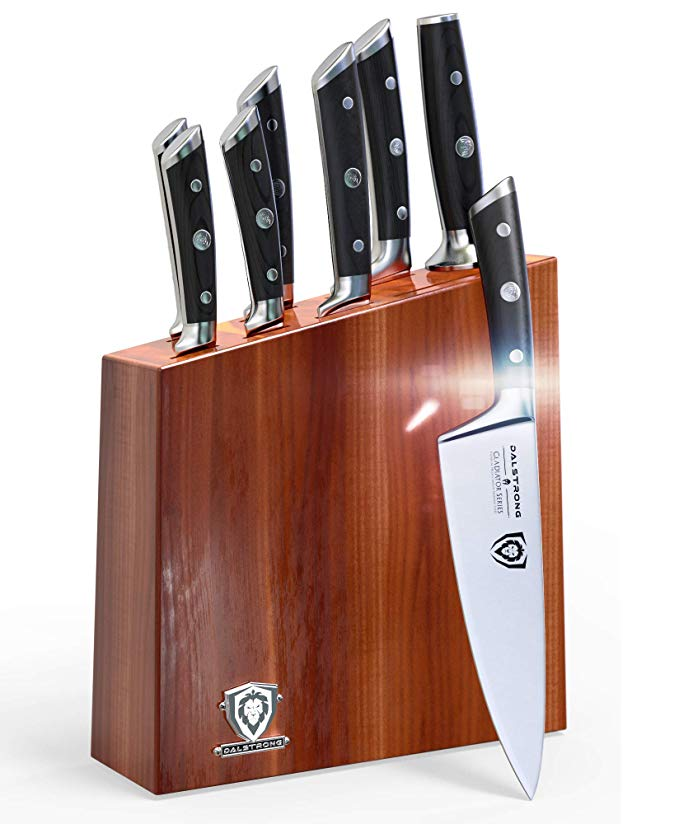 Normally $820, this knife set block is 76 percent off today (Photo via Amazon)