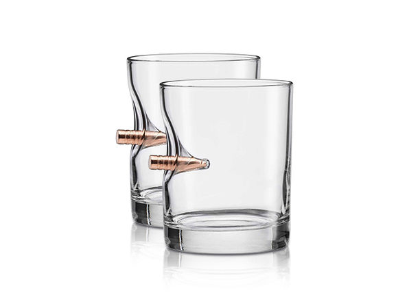 Normally $40, this rocks glass gift set is 11 percent off