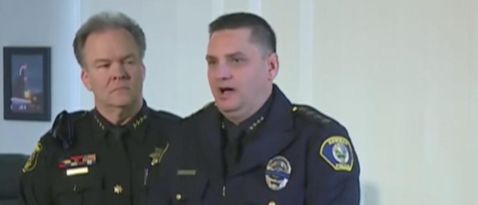 Newman Police Chief Randy Richardson responds to officer's murder. Screen Shot/Fox News
