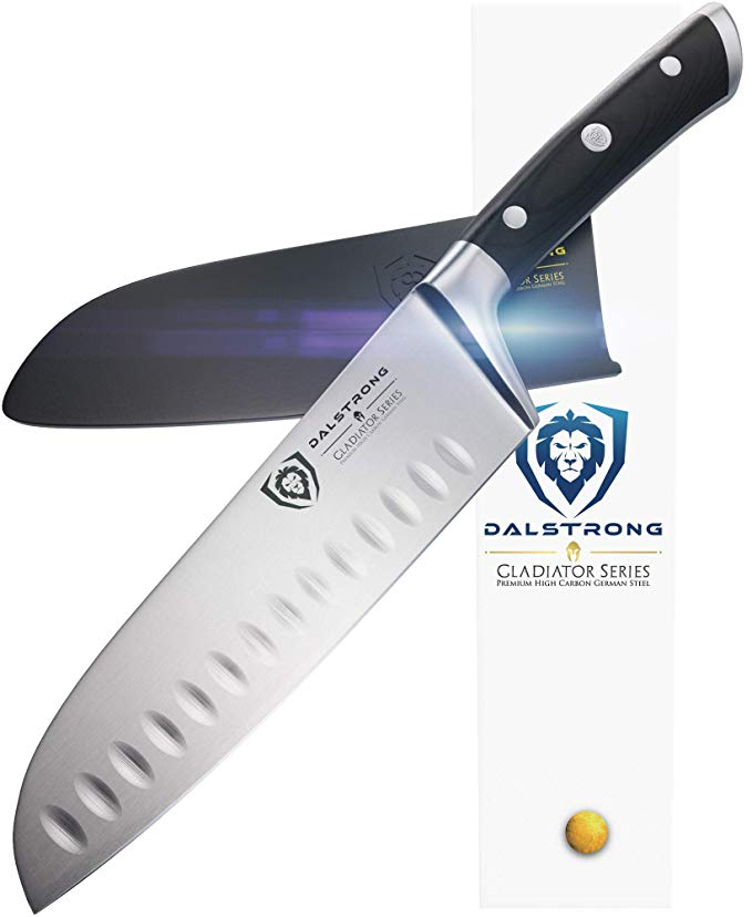 Normally $110, this Santoku knife is 66 percent off today (Photo via Amazon)