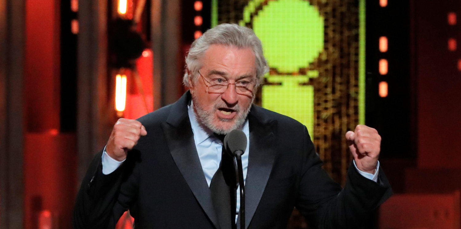 Robert De Niro Calls President A 'Nightmare,' Then Claims Trump's Insults Aren't 'Even Witty' | The Daily Caller