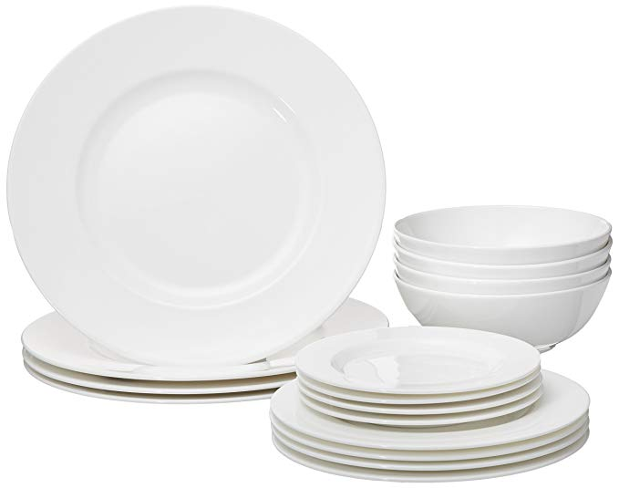 Normally $340, this dinnerware set is 63 percent off today (Photo via Amazon)