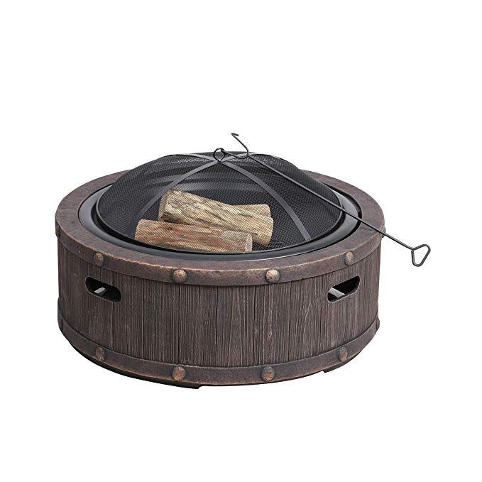 Normally $275, this fire pit is 45 percent off today (Photo via Amazon)