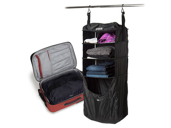 Normally $80, this luggage shelf is 58 percent off