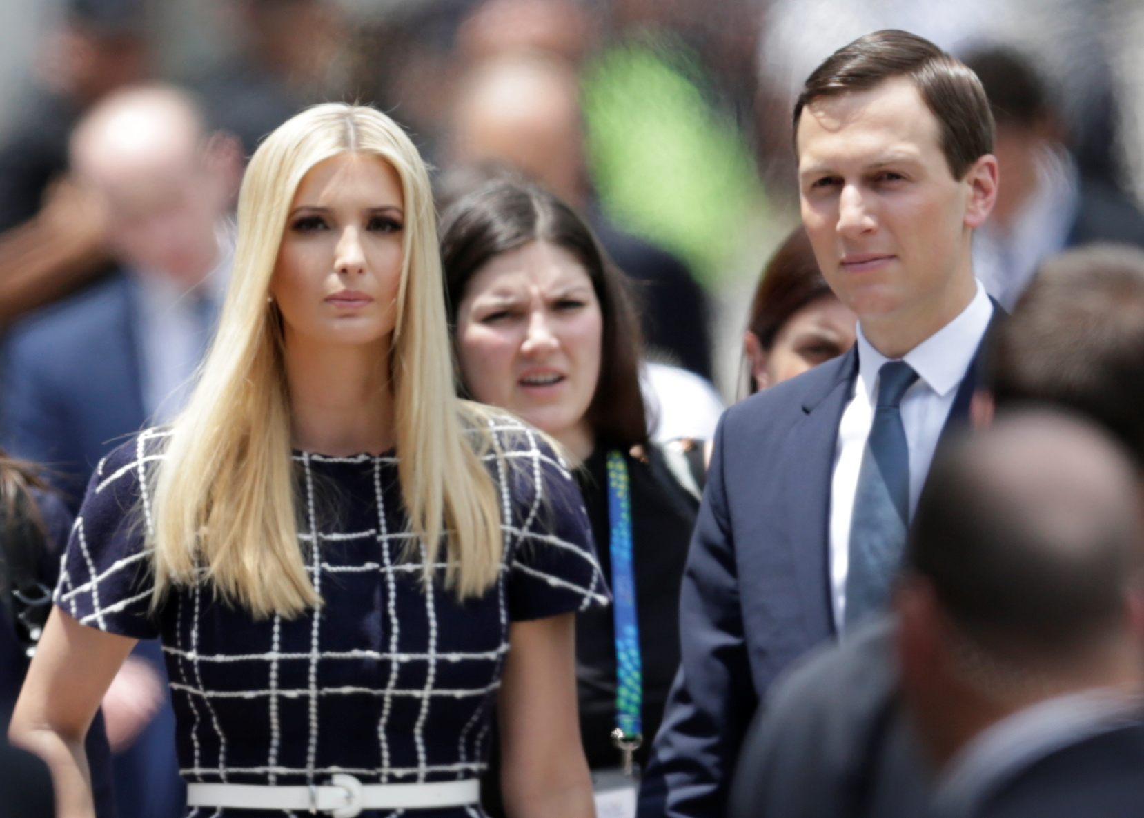White House advisors Jared Kushner and Ivanka Trump arrive for the G20 leaders summit in Buenos Aires, Argentina November 30, 2018. REUTERS/Luisa Gonzalez