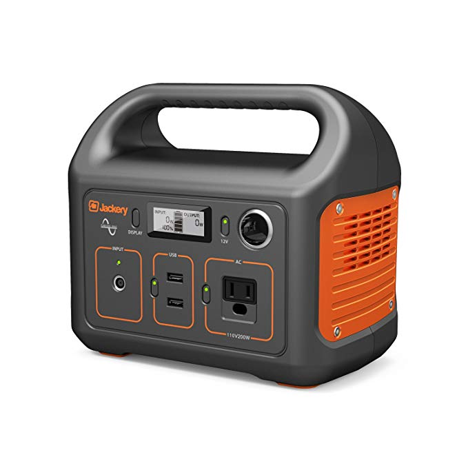 Normally $250, this portable power station generator is 20 percent off with the code DAILYCAL (Photo via Amazon)