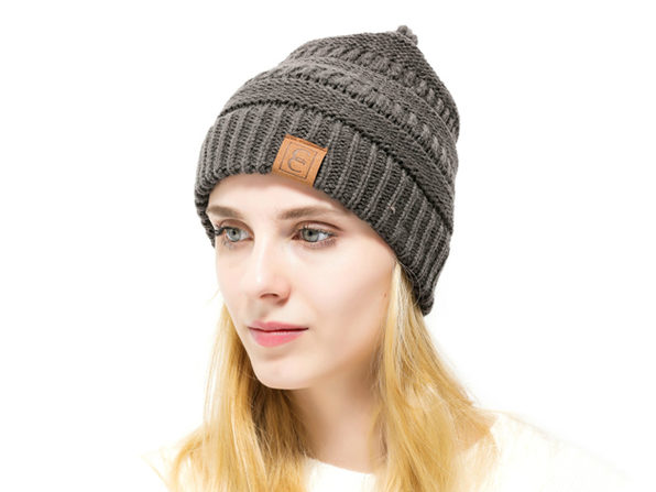 Normally $40, this knit beanie is 67 percent off