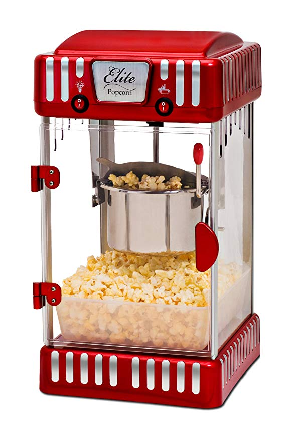 Normally $80, this popcorn machine is 18 percent off (Photo via Amazon)
