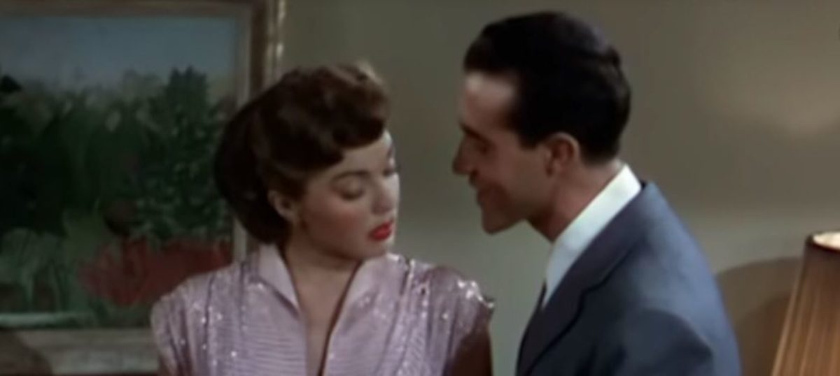 "Ricardo Montalbán and Esther Williams perform ""Baby It's Cold Outside"" in the 1949 film ""Neptune's Daughter."" YouTube screenshot/mrdraftRicardo Montalbán and Esther Williams perform ""Baby It's Cold Outside"" in the 1949 film ""Neptune's Daughter."" YouTube screenshot"