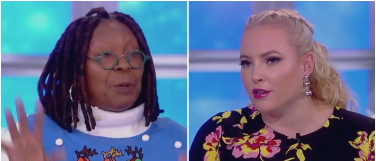 Whoopi Goldberg Refuses To Say The Word 'Gun' On 'The View'