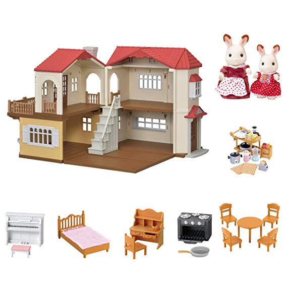 Normally $100, this country home set is 43 percent off (Photo via Amazon)