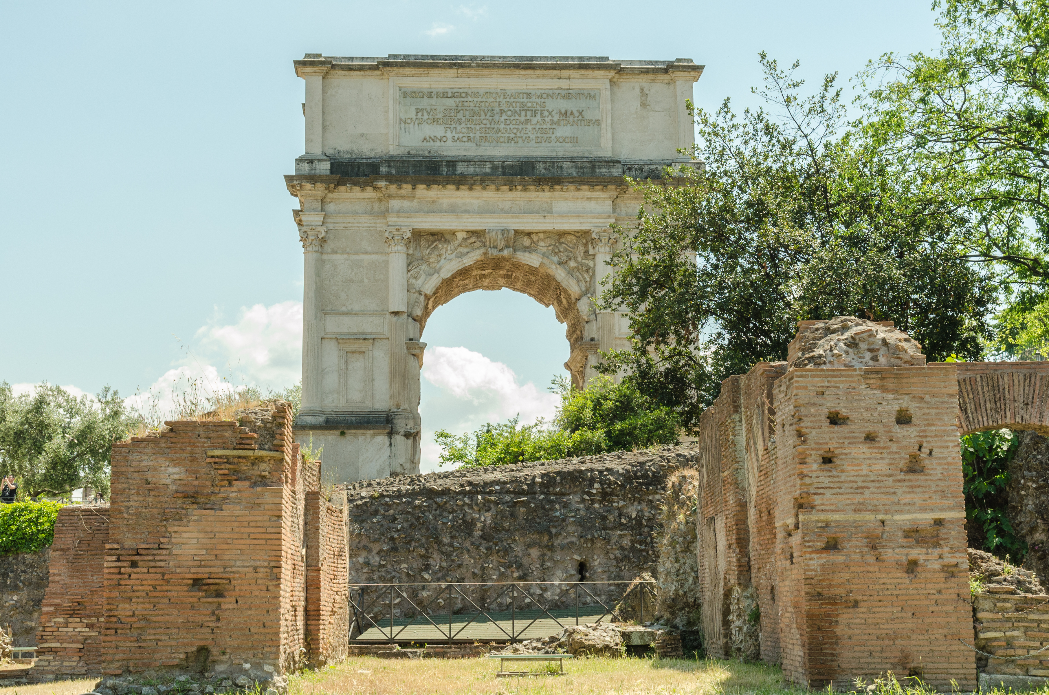 Triumphal arch of Titus in Rome, Italy (vladibuddy/Shutterstock)