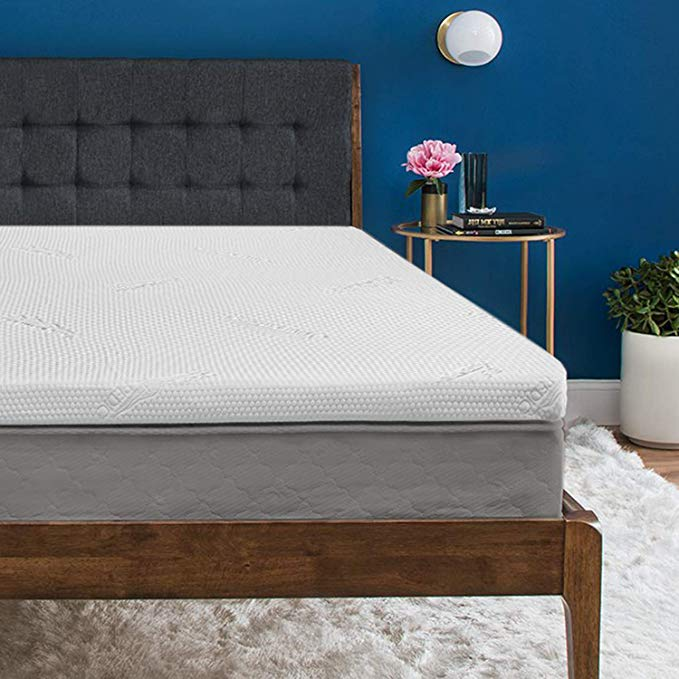 Normally $300, pick up this Queen sized mattress topper today for only $200 (Photo via Amazon)