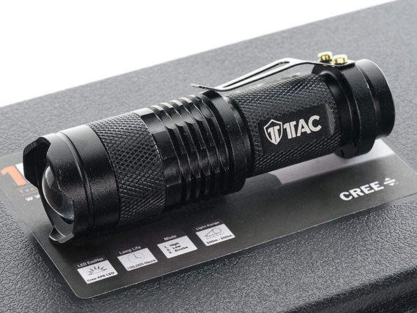Normally $40, this tactical flashlight is 15 percent off