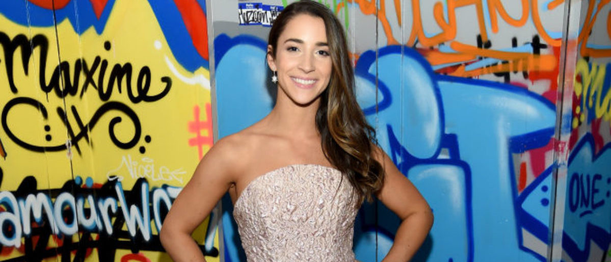 BROOKLYN, NY - NOVEMBER 13: Aly Raisman attends Glamour's 2017 Women of The Year Awards at Kings Theatre on November 13, 2017 in Brooklyn, New York. (Photo by Dimitrios Kambouris/Getty Images for Glamour)