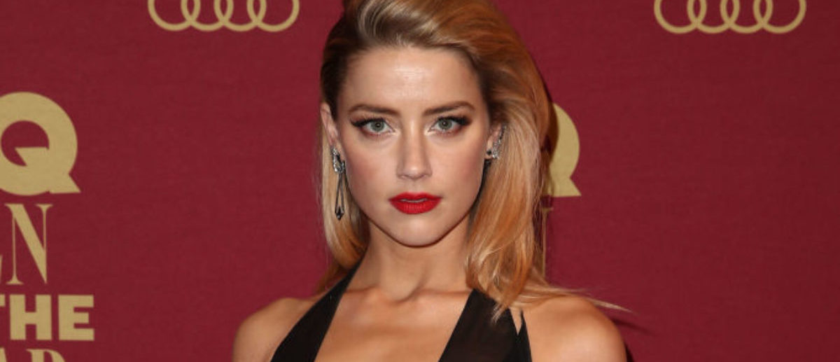 SYDNEY, AUSTRALIA - NOVEMBER 15: Amber Heard attends the GQ Men Of The Year Awards at The Star on November 15, 2017 in Sydney, Australia. (Photo by Brendon Thorne/Getty Images for GQ Australia)