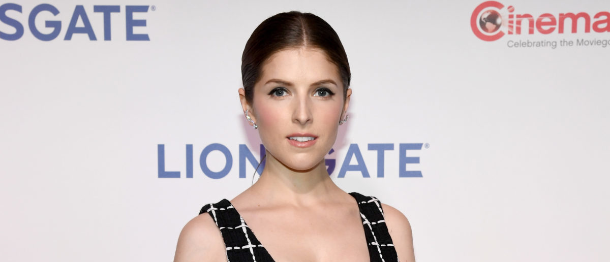 LAS VEGAS, NV - APRIL 26: Actor Anna Kendrick attends CinemaCon 2018 Lionsgate Invites You to An Exclusive Presentation Highlighting Its 2018 Summer and Beyond at The Colosseum at Caesars Palace during CinemaCon, the official convention of the National Association of Theatre Owners, on April 26, 2018 in Las Vegas, Nevada. (Photo by Ethan Miller/Getty Images for CinemaCon)