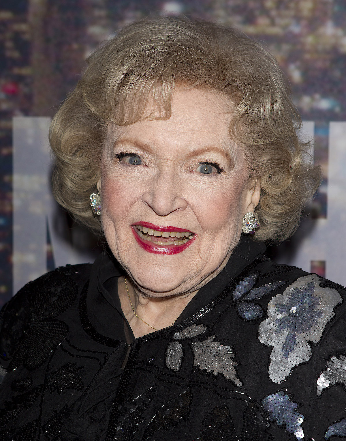 Actress Betty White arrives for the 40th Anniversary Saturday Night Live (SNL) broadcast in the Manhattan Borough of New York, February 15, 2015. REUTERS/Carlo Allegri