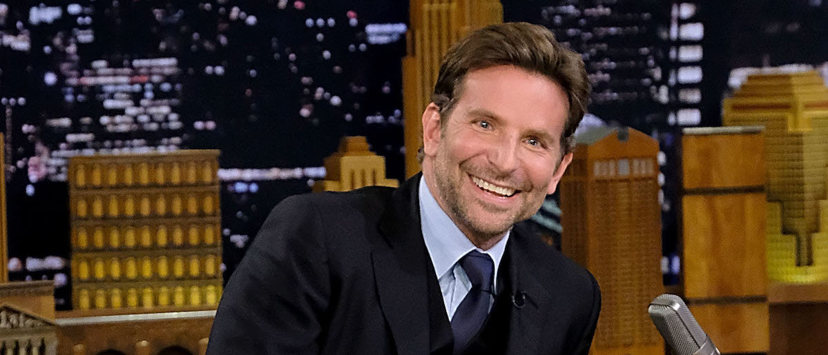 Bradley Cooper at Rockefeller Center on October 3, 2018 in New York City. (Photo by Jamie McCarthy/Getty Images for NBC)