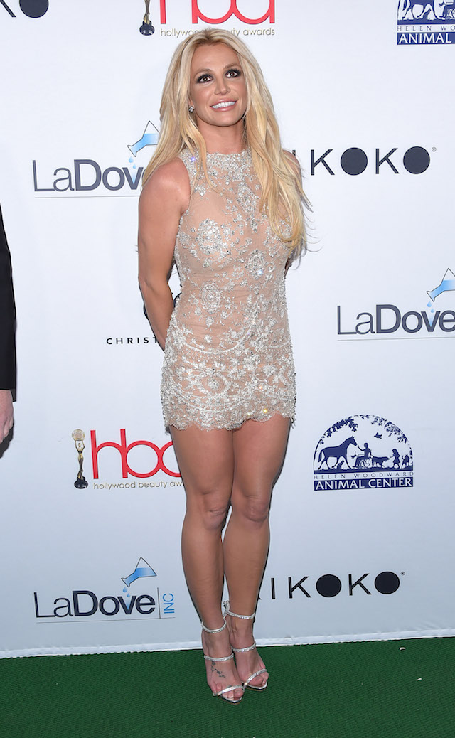 Hollywood, California, U.S. - Britney Spears arrives for the Hollywood Beauty Awards at Avalon Hollywood. Pictured: Britney Spears Picture by: Zuma / Splash News