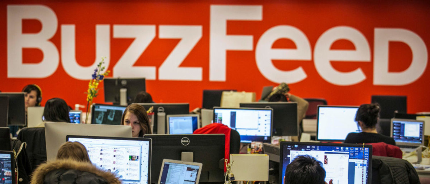 Buzzfeed employees work at the company's headquarters in New York Jan. 9, 2014. REUTERS/Brendan McDermid