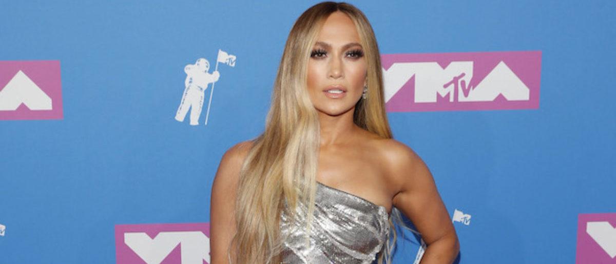 2018 MTV Video Music Awards - Arrivals - Radio City Music Hall, New York, U.S., August 20, 2018. - Jennifer Lopez. REUTERS/Andrew Kelly