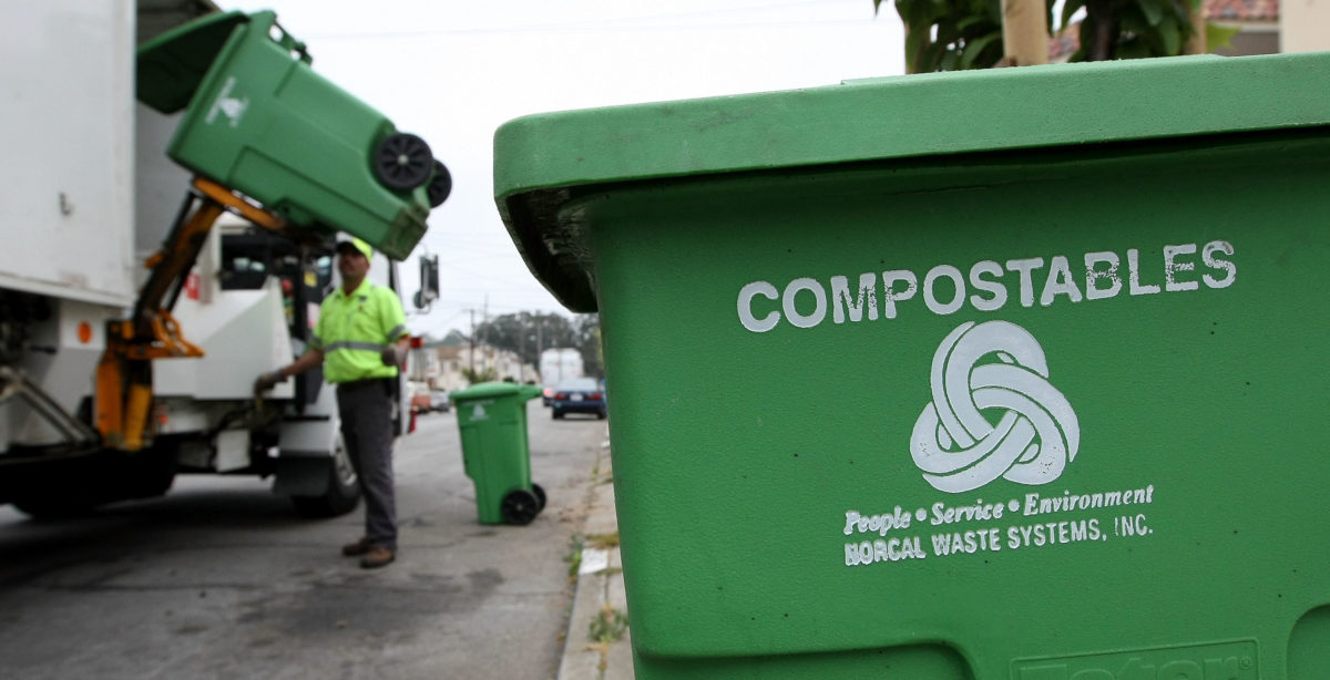 Compostables Were Meant To Save Us From Plastics. They're Overflowing Landfills