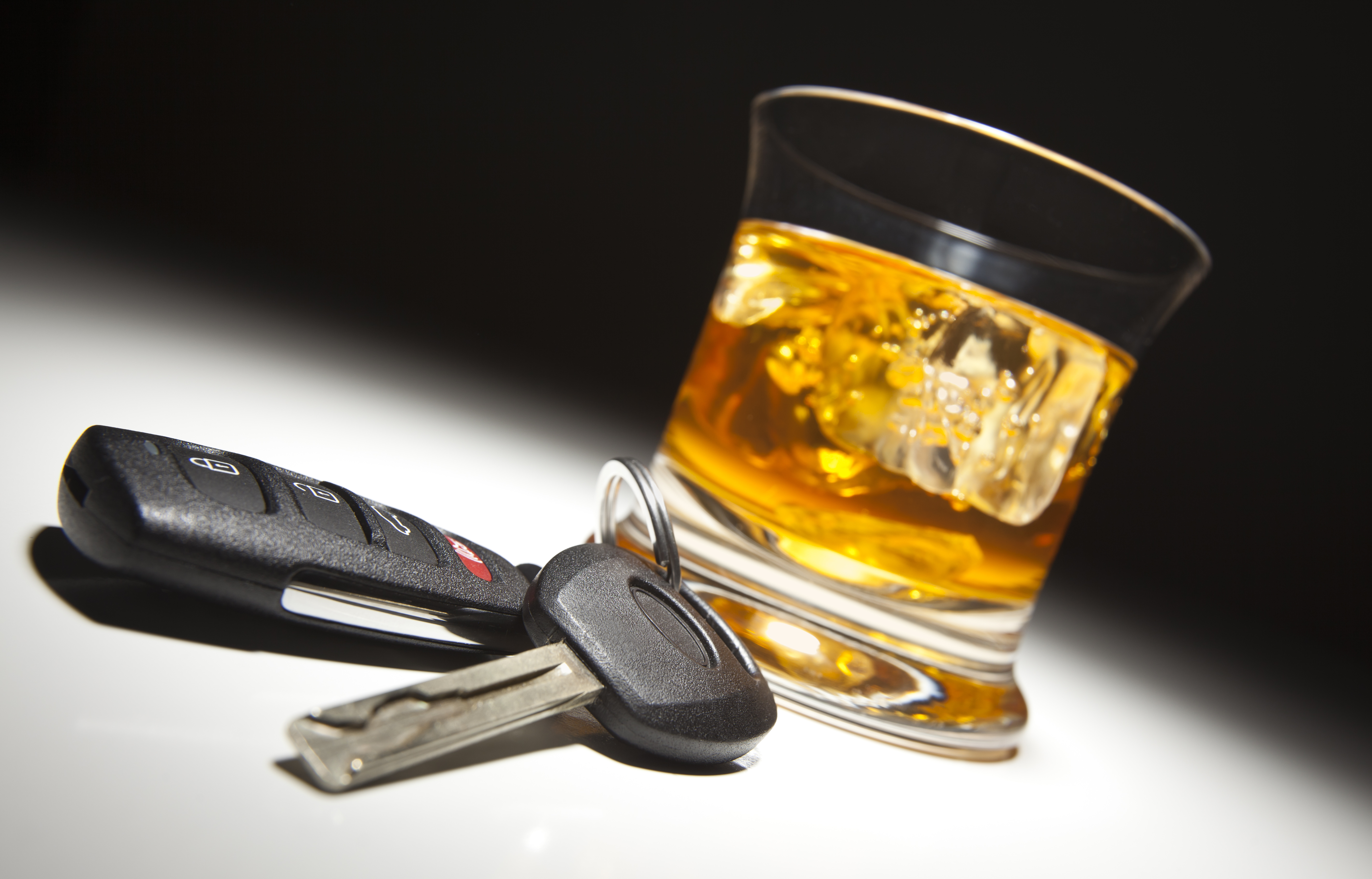 Pictured is the concept of driving under the influence. SHUTTERSTOCK/ Andy Dean Photography