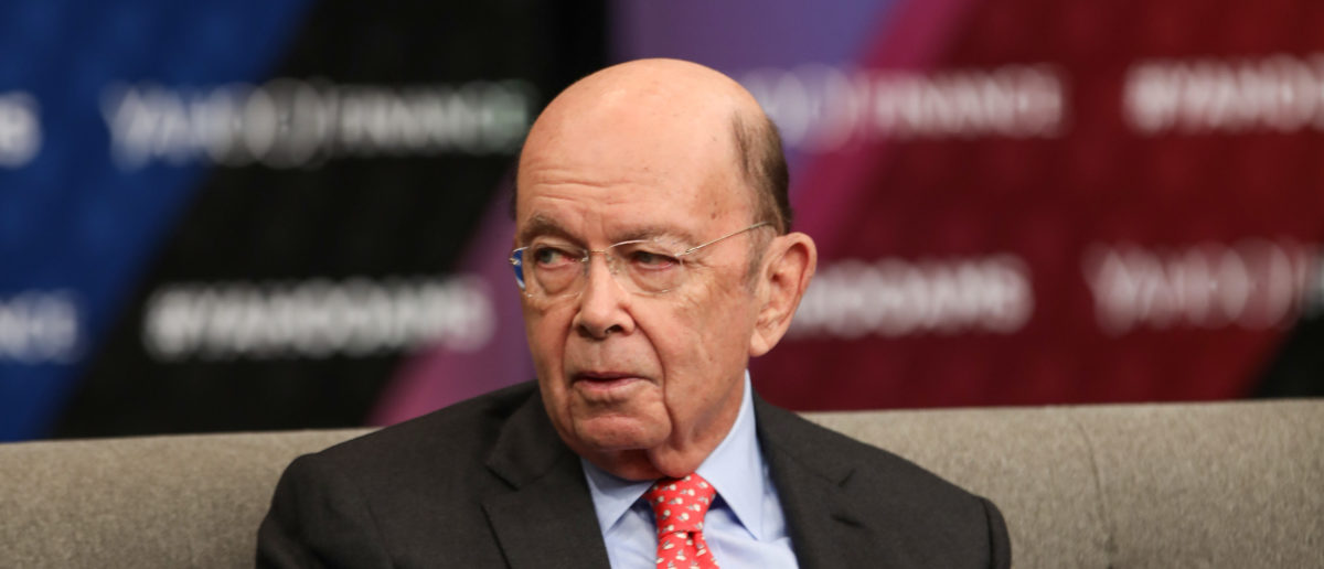 U.S. Commerce Secretary Wilbur Ross speaks during the Yahoo Finance All Markets Summit: America's Financial Future At The Newseum In Washington D.C. on November 13, 2018 in Washington, DC. (Photo by Tasos Katopodis/Getty Images for Yahoo Finance)