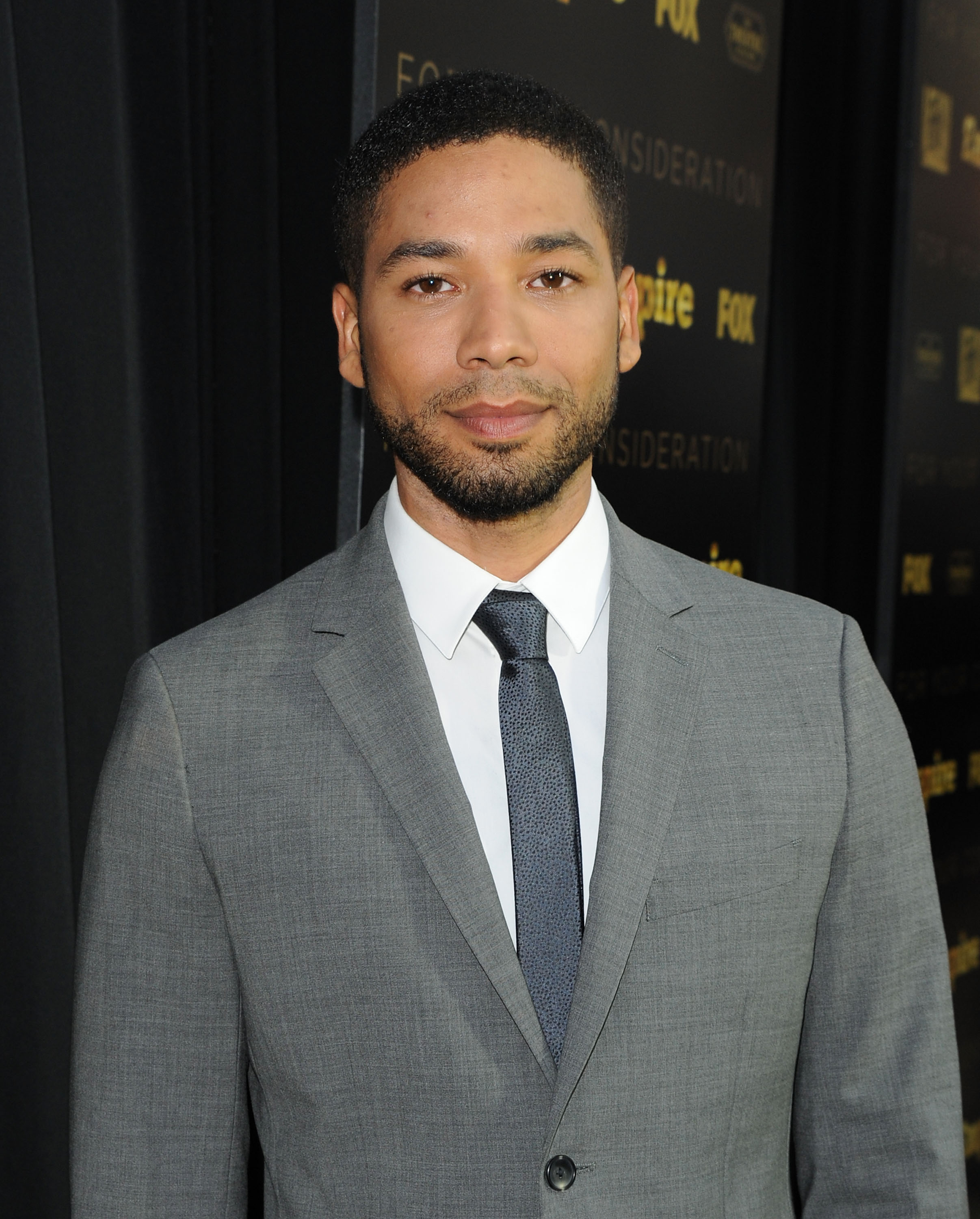 "Actor Jussie Smollett arrives at Fox's ""Empire"" ATAS Academy Event at The Theatre at The Ace Hotel on March 12, 2015 in Los Angeles, California. (Photo by Angela Weiss/Getty Images)"