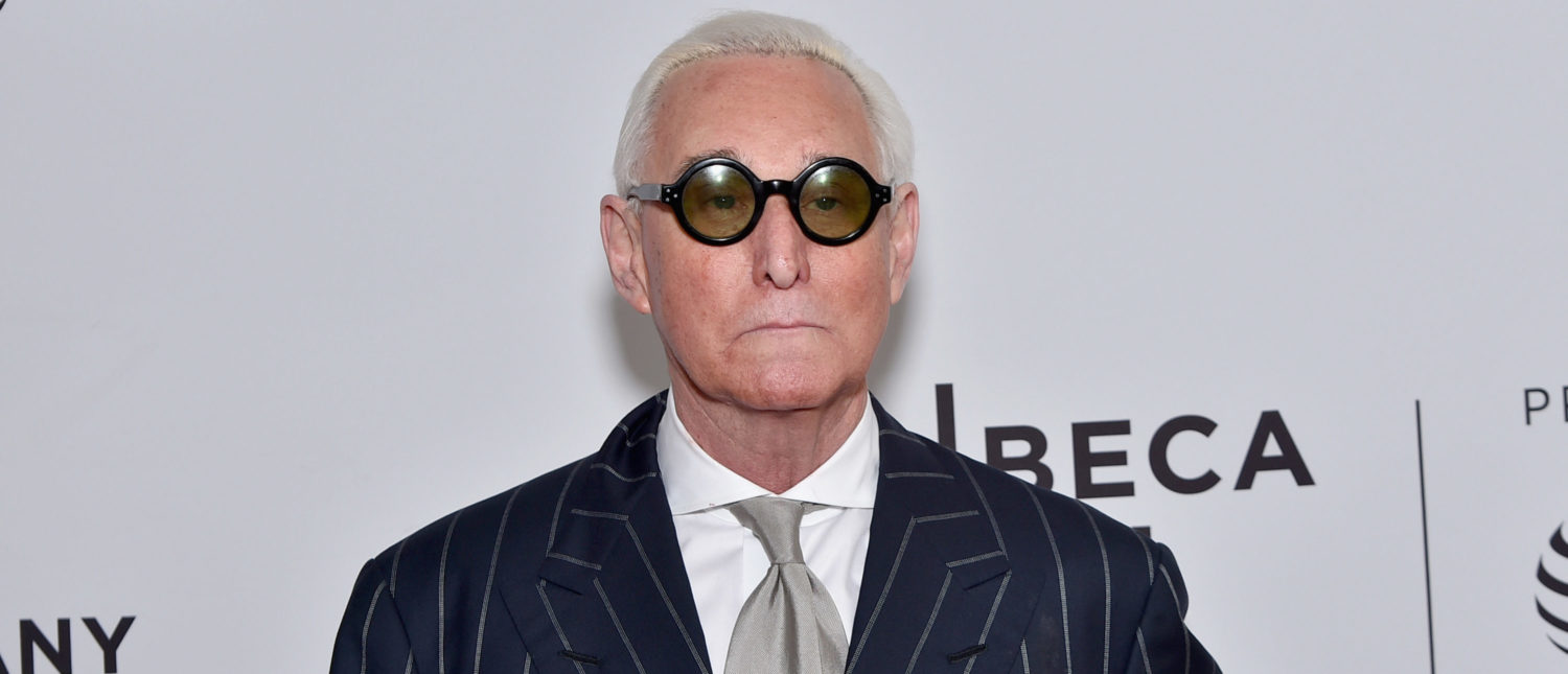Political consultant Roger Stone attends the 'Get Me Roger Stone' Premiere during the 2017 Tribeca Film Festival at SVA Theatre on April 23, 2017 in New York City. (Photo by Mike Coppola/Getty Images for Tribeca Film Festival)