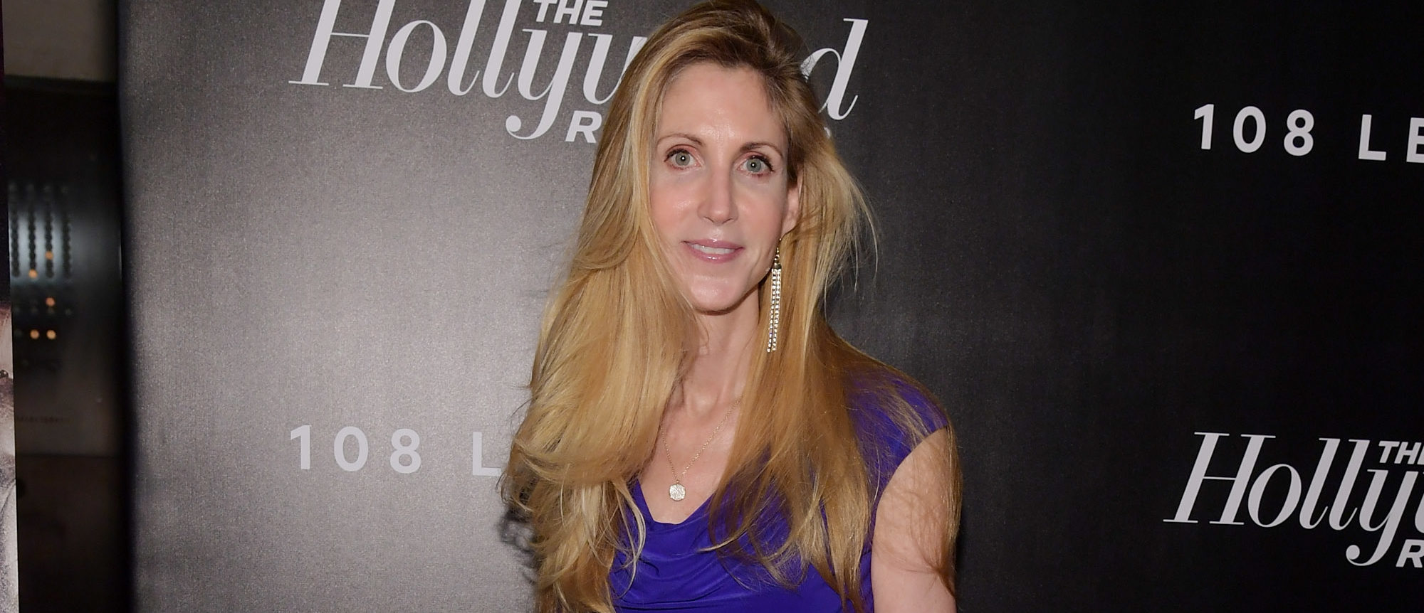 Ann Coulter attends The Hollywood Reporter's Most Powerful People In Media 2018 at The Pool on April 12, 2018 in New York City. (Photo by Ben Gabbe/Getty Images)