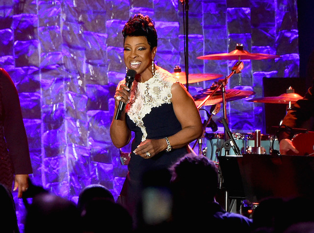 Gladys Knight performs onstage during the Clive Davis and Recording Academy Pre-GRAMMY Gala and GRAMMY Salute to Industry Icons Honoring Jay-Z on January 27, 2018 in New York City. (Photo by Mike Coppola/Getty Images)