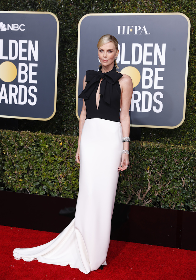 76th Golden Globe Awards - Arrivals - Beverly Hills, California, U.S., January 6, 2019 - Charlize Theron. REUTERS/Mike Blake