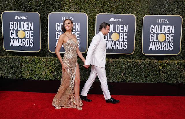 76th Golden Globe Awards - Arrivals - Beverly Hills, California, U.S., January 6, 2019 - Irina Shayk and Bradley Cooper. REUTERS/Mike Blake