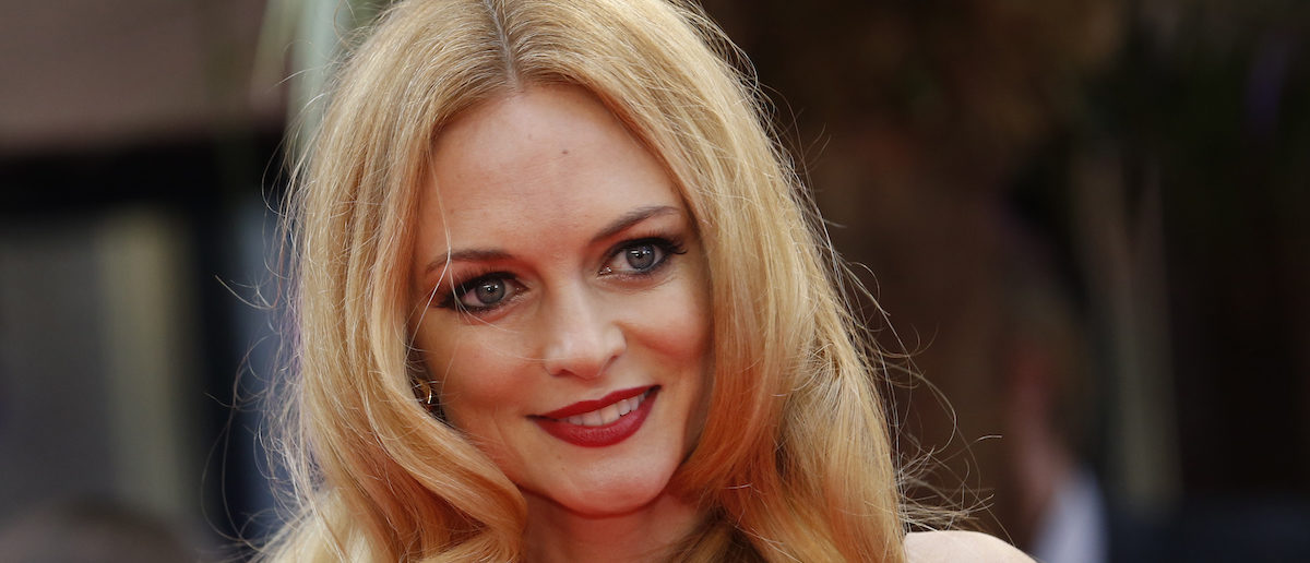Heather Graham arrives for the European premiere of the film The Hangover Part III at the Empire Cinema in central London May 22, 2013. REUTERS/Luke MacGregor