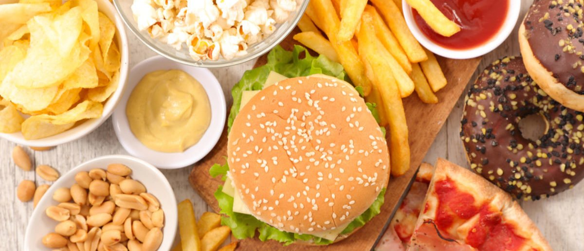 (SHUTTERSTOCK By margouillat photo) selection of junk food - Image