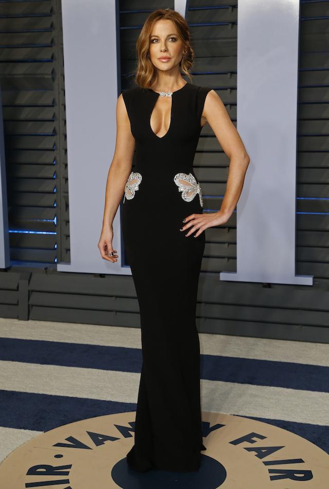 2018 Vanity Fair Oscar Party Arrivals Beverly Hills, California, U.S., 04/03/2018 Actress Kate Beckinsale. REUTERS/Danny Moloshok
