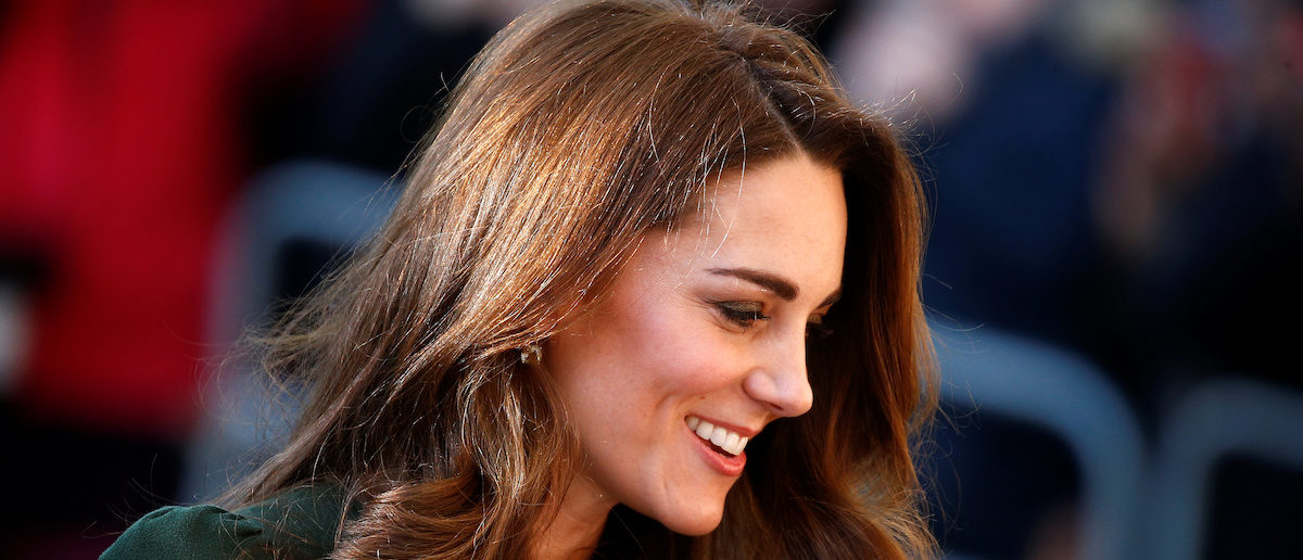 Kate Middleton Turns Heads In Form-Fitting Hunter Green Dress In London
