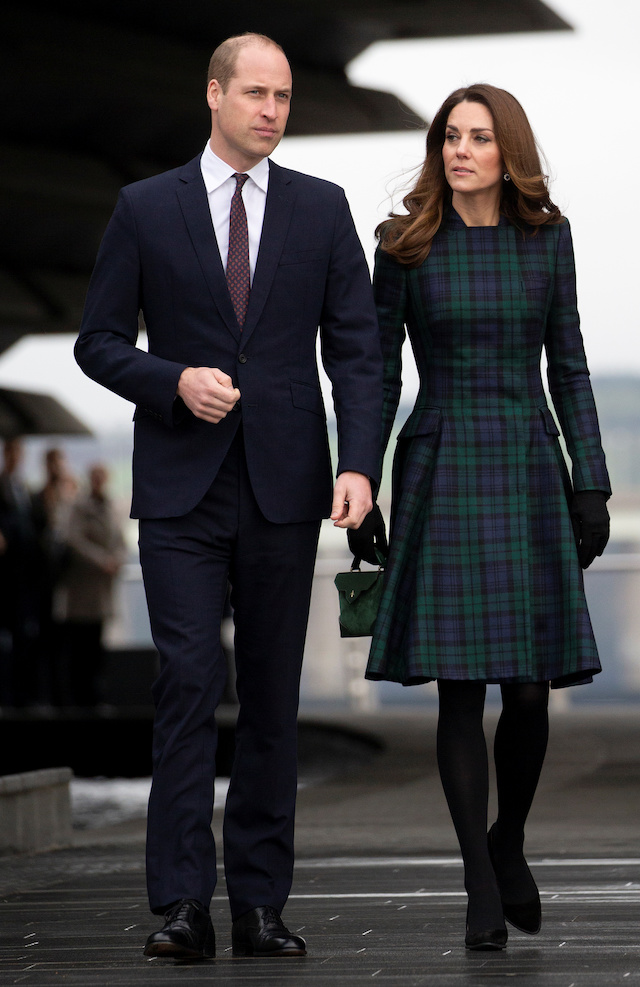 "Britain's Prince William, Duke of Cambridge and Catherine, Duchess of Cambridge visit the ""V&A Dundee"", Scotland's first design museum, in Dundee, Scotland, January 29, 2019. Jane Barlow/Pool via REUTERS"