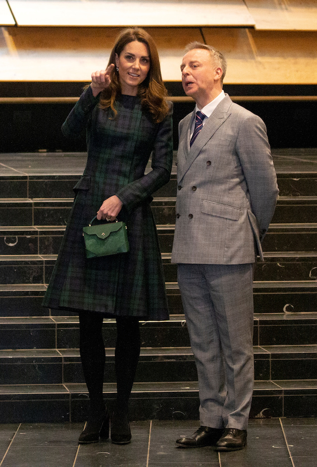 "Catherine, Duchess of Cambridge and director Philip Long visit the ""V&A Dundee"", Scotland's first design museum, in Dundee, Scotland, January 29, 2019. Jane Barlow/Pool via REUTERS"
