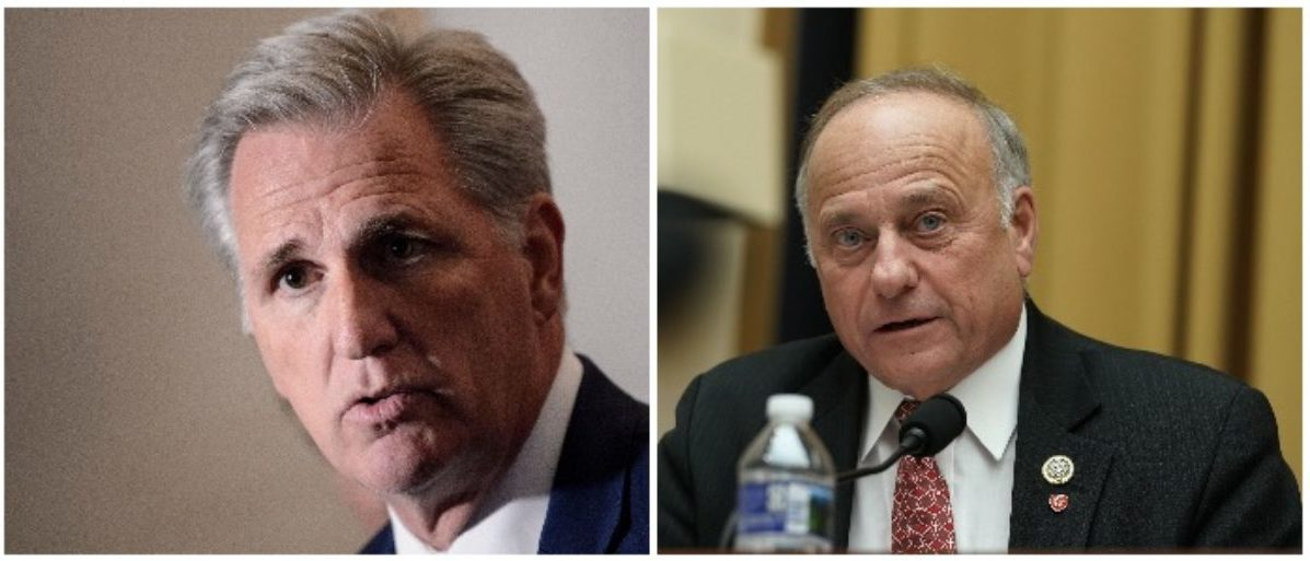 Image result for photos of kevin McCarthy and steve king