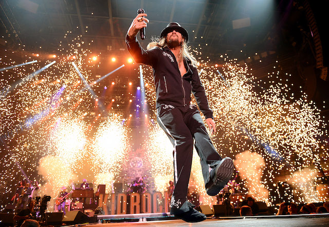 Recording artist Kid Rock performs during Tiger Jam 2013 at the Mandalay Bay Events Center on May 18, 2013 in Las Vegas, Nevada. (Photo by Ethan Miller/Getty Images)