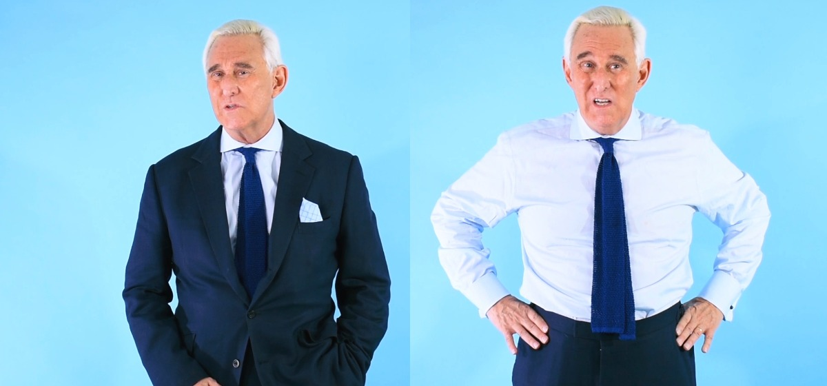 Roger Stone Gives Special Counsel On How To Dress For Your Day In Court [Daily Caller]