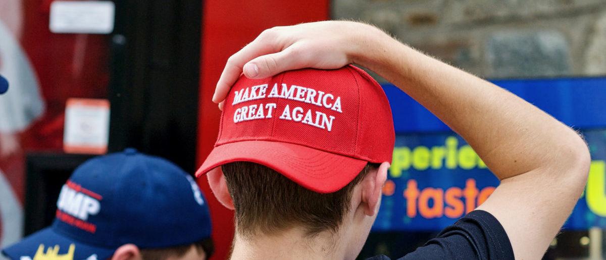 A Democrat wants to ban teen from wearing MAGA hats. SHUTTERSTOCK/ John M. Chase