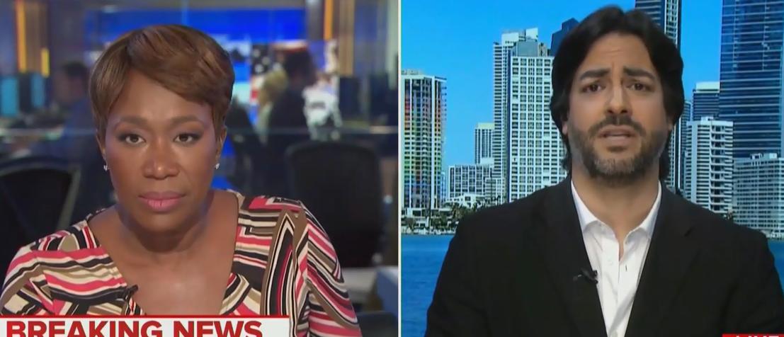 MSNBC Guest Calls Trump A Domestic Terrorist, Compares Speech To '1933 Nazi Germany'