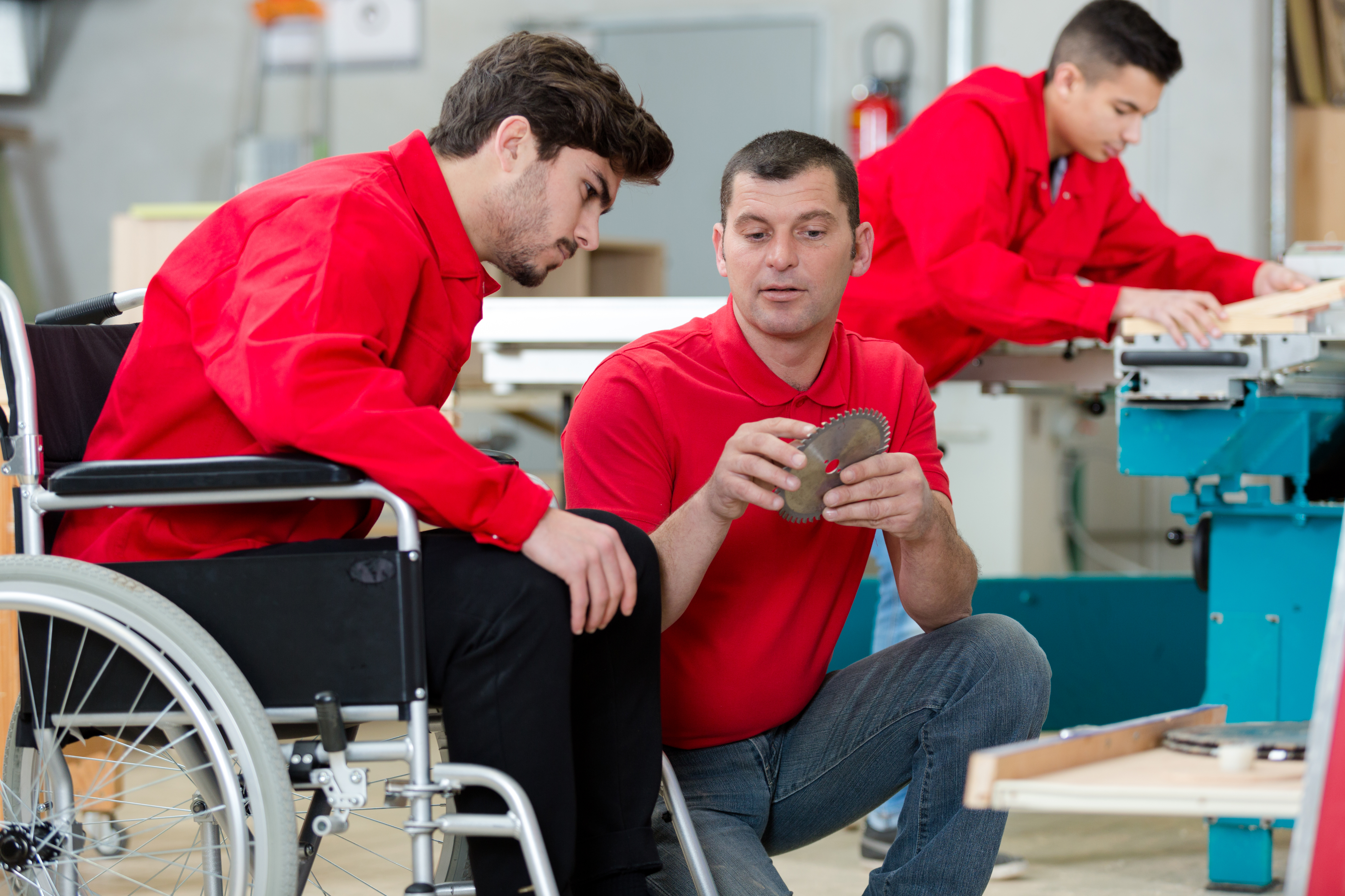 Organizations for the disabled adult