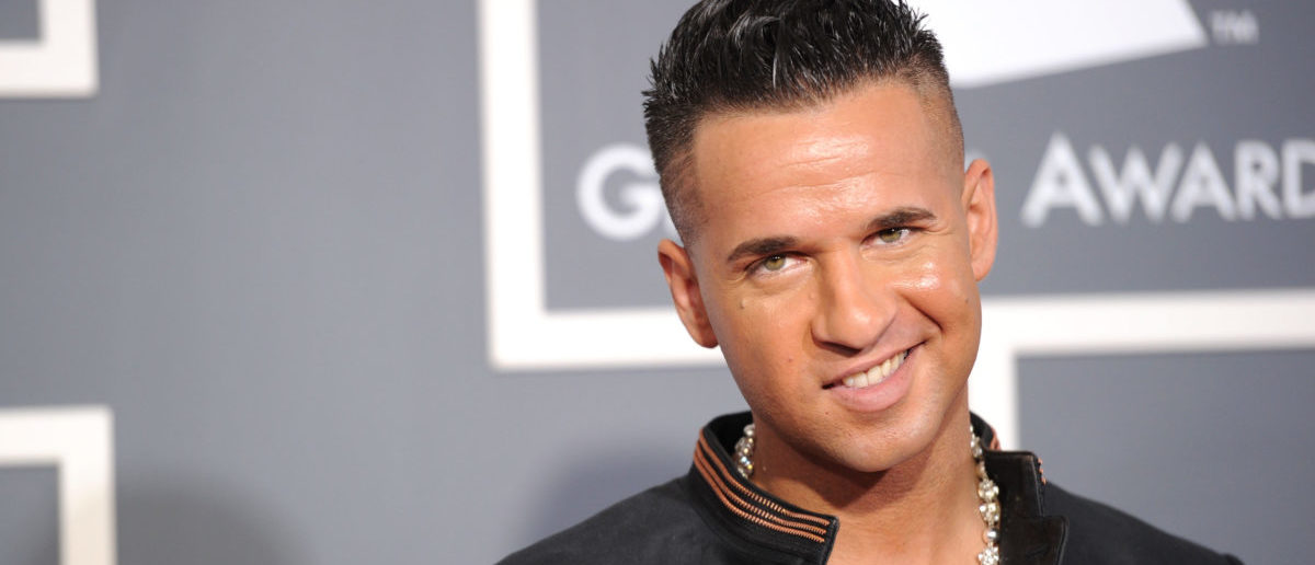 """LOS ANGELES, CA - FEBRUARY 13: TV personality Michael """"The Situation"""" Sorrentino arrives at The 53rd Annual GRAMMY Awards held at Staples Center on February 13, 2011 in Los Angeles, California. (Photo by Jason Merritt/Getty Images)"""